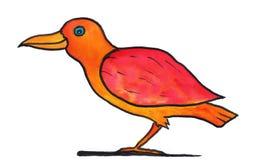 Funny bird Royalty Free Stock Photography