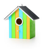 Funny bird box Royalty Free Stock Photography