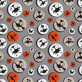 Funny birds. Seamless pattern. Vector Stock Image