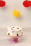 Funny birthday cake Stock Photography