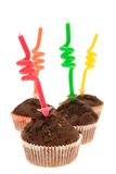 Funny birthday cakes Royalty Free Stock Photos