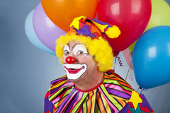 Funny Birthday Clown Stock Photos