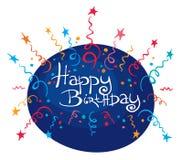 Funny Birthday Fireworks. Illustration, background -- Funny Birthday Fireworks Stock Photos