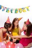 Funny birthday party Stock Photo