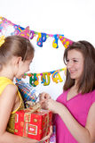 Funny birthday party Royalty Free Stock Photography