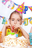 Funny birthday party Royalty Free Stock Photos