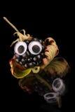 Funny blackberry fruit Stock Photos