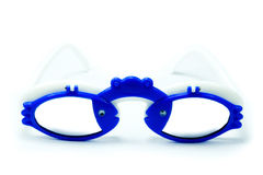 Funny blue clab glasses isolated Royalty Free Stock Photography