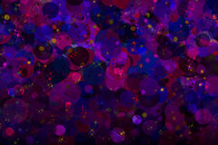 Funny blurry and bokeh multicolored background. Royalty Free Stock Image