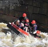 A funny boat race Royalty Free Stock Photography