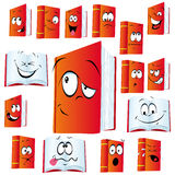 Funny book montage stock illustration