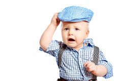 Funny boy Royalty Free Stock Images