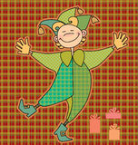 Funny boy. Colour illustration of funny boy Stock Photography
