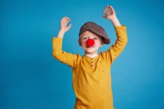 Funny boy Royalty Free Stock Photo