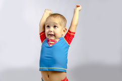 Funny boy Stock Images