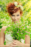 Funny bride Royalty Free Stock Images