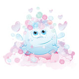 Funny bubble Royalty Free Stock Image