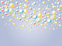 Funny bubbles Stock Photography