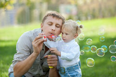 Funny bubbles Royalty Free Stock Images