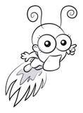 Funny bug Stock Image