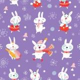 Funny bunnies Stock Image