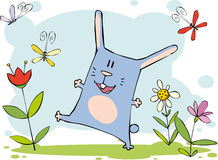 Funny bunny Royalty Free Stock Photography