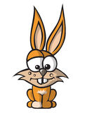 Funny bunny royalty free illustration