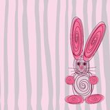 Funny bunny. Stock Image