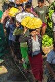 Funny Burmese woman Royalty Free Stock Photography
