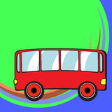 Funny bus Royalty Free Stock Image