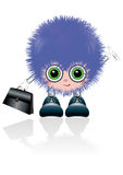 funny Business mascot Royalty Free Stock Image