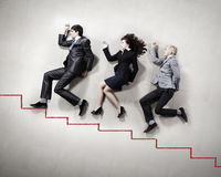 Funny business people Royalty Free Stock Image