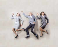Funny business people Stock Photos