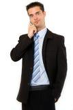 Funny businessman Stock Photo