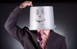 Funny businessman Stock Image