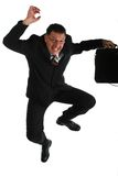 Funny businessman Royalty Free Stock Photos