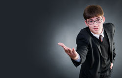 Funny businessman Stock Photography