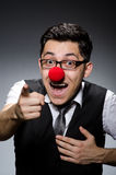 Funny businessman Stock Photos