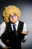 Funny businessman Stock Images