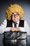 Funny businessman Royalty Free Stock Photos