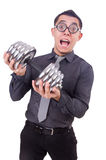 Funny businessman Royalty Free Stock Images