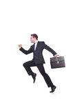 Funny businessman Royalty Free Stock Image