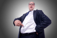 Funny businessman  Royalty Free Stock Photo