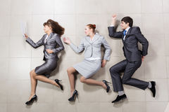 Funny businesspeople Stock Photos