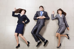 Funny businesspeople Royalty Free Stock Photos