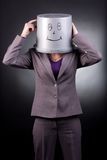 Funny businesswoman Royalty Free Stock Image
