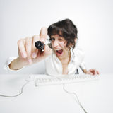 Funny Businesswoman Stock Photos