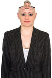 Funny Businesswoman, Business People Isolated stock image
