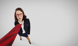 Funny businesswoman Royalty Free Stock Photo