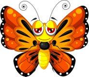 Funny butterfly cartoon. Illustration of funny butterfly cartoon stock illustration